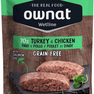 OWNAT WETLINE TURKEY & CHICKEN (CAT) 85G