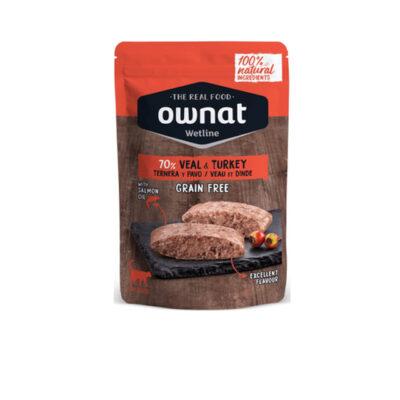 OWNAT WETLINE VEAL & TURKEY (CAT) 85G