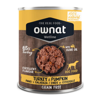 OWNAT WETLINE TURKEY WITH PUMPKIN (DOG)