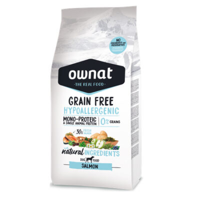 OWNAT GRAIN FREE HYPO SALMON 14KG (DOG)
