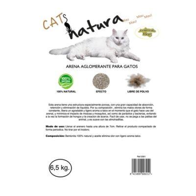 CATS NATURA ARENA AGLOMERANTE BOLSA 6,5 KG