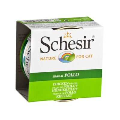 SCHESIR CAT FILETES DE POLLO CON GELATINA 85GR.