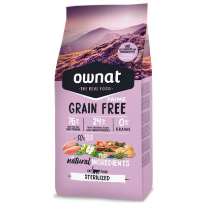 OWNAT GRAIN FREE PRIME STERILIZED CAT