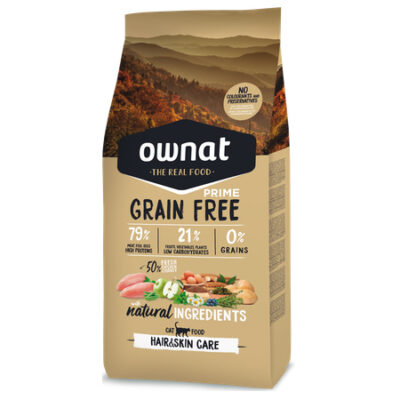 OWNAT GRAIN FREE PRIME HAIR & SKIN CAT