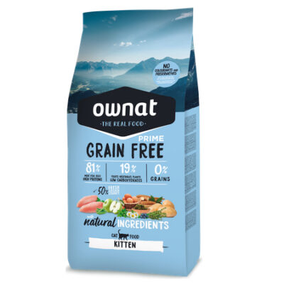OWNAT GRAIN FREE PRIME KITTEN CAT