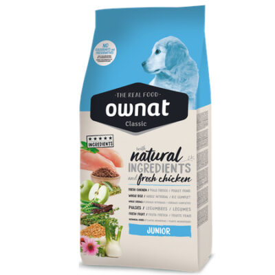 OWNAT CLASSIC JUNIOR DOG 4KG