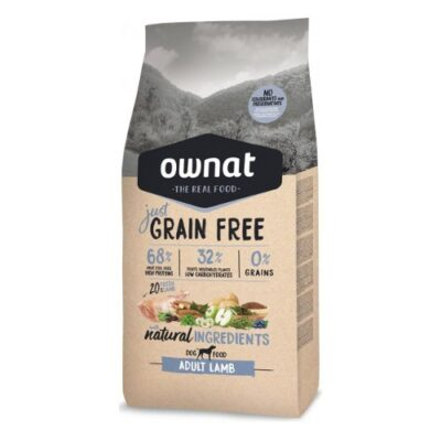 OWNAT JUST GRAIN FREE ADULT LAMB DOG