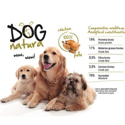 DOG NATURA CHICKEN 400G