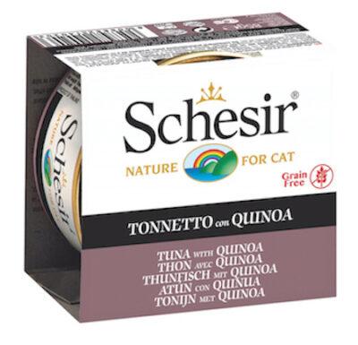 SCHESIR CAT ATUN CON QUINOA 85GR.